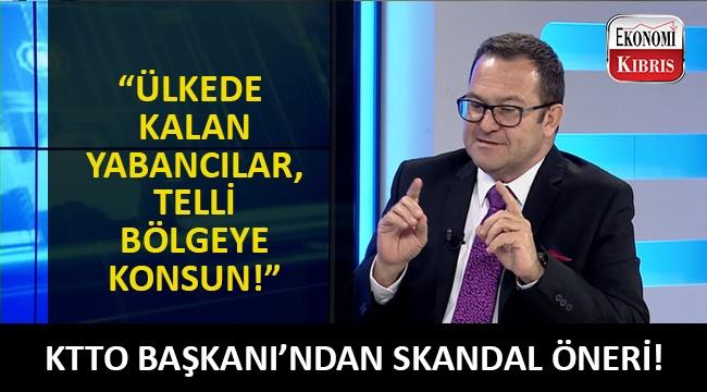 KTTO Başkanı Turgay Deniz'den yabancı çalışanlar için skandal öneri!