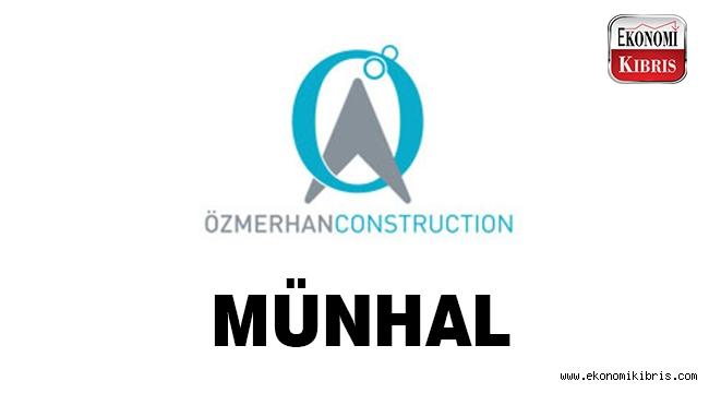 Özmerhan Construction münhal duyurusu - Kıbrıs iş ilanları