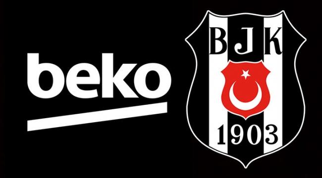 Beşiktaş Futbol Takımı formasının göğsünde artık Beko olacak! İşte detaylar...