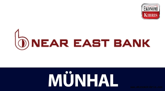 Near East Bank münhal duyurusu - Kıbrıs iş ilanları