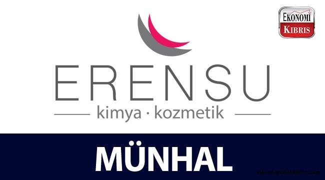 Erensu Kimya Kozmetik Ltd. münhal duyurusu - Kıbrıs iş ilanları