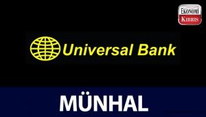 Universal Bank münhal duyurusu - Kıbrıs iş ilanları