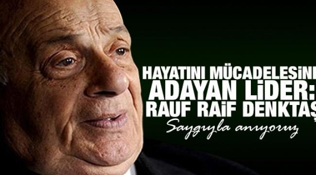 Kuzey Kıbrıs Türk Cumhuriyeti'nin (KKTC) Kurucu Cumhurbaşkanı Rauf Denktaş'ın vefatının 9'uncu yılı.