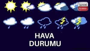 Kıbrıs hava durumu! İşte detaylar...