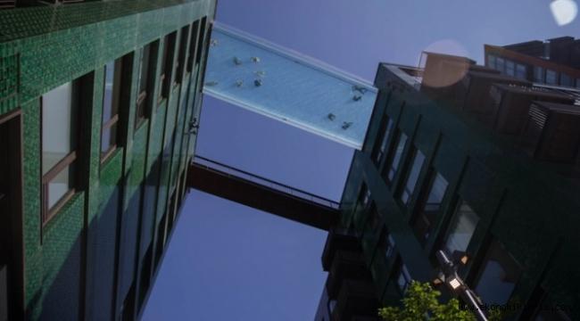 Dünyanın ilk 'Gökyüzü Havuzu' açıldı!