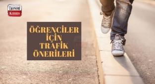 Kuzey Kıbrıs'a yerleşen öğrenciler için trafik önerileri