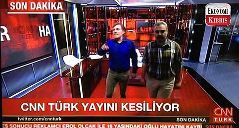 İŞTE CNN TÜRK'E ASKERİ MÜDAHALE ANI!