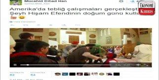 Cami'de skandal görüntüler!